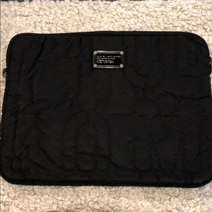 Marc Jacobs quilted laptop case